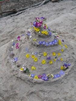 Sandcastles & Flowers
